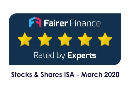 Our Stocks & Shares ISA has been rated 5*