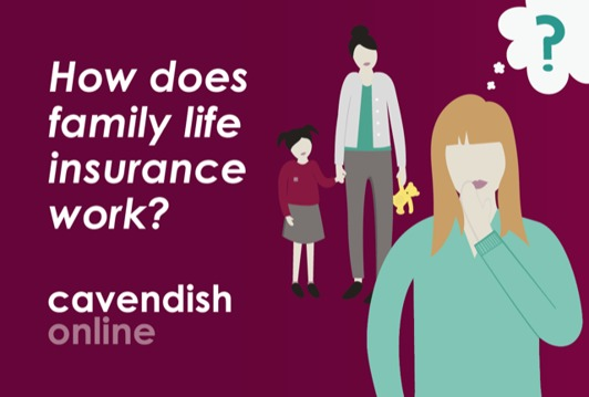How does family life insurance work?